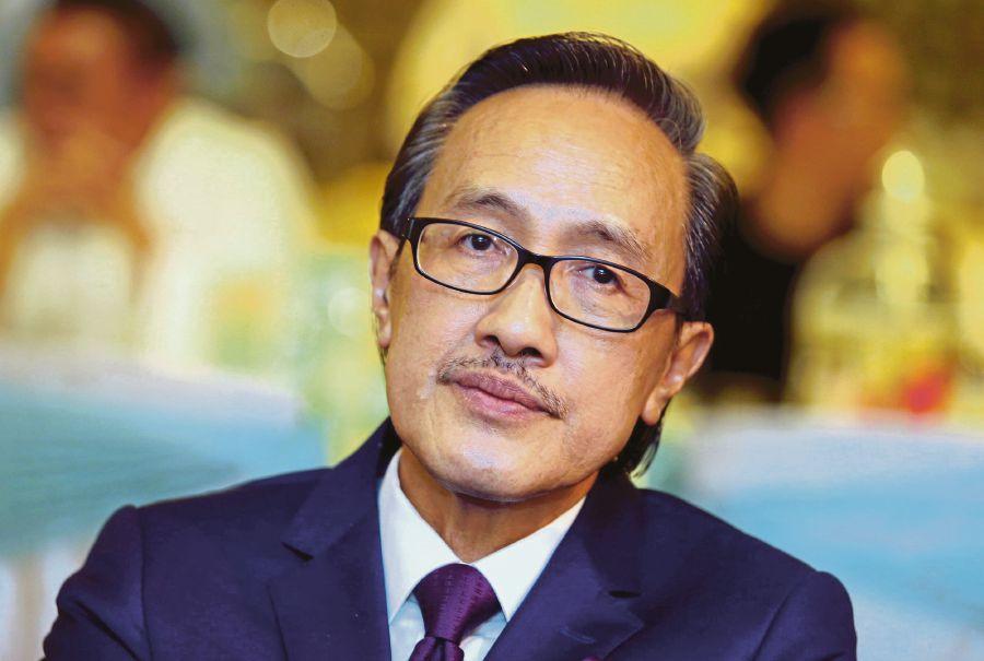 KOTA KINABALU 24 JULY 2017. Menteri Pelancongan, Kebudayaan dan Alam Sekitar Sabah, Datuk Masidi Manjun. NSTP/MALAI ROSMAH TUAH. borneo echo