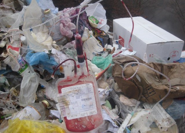 13 metric tonnes of medical waste collected daily in Sabah.