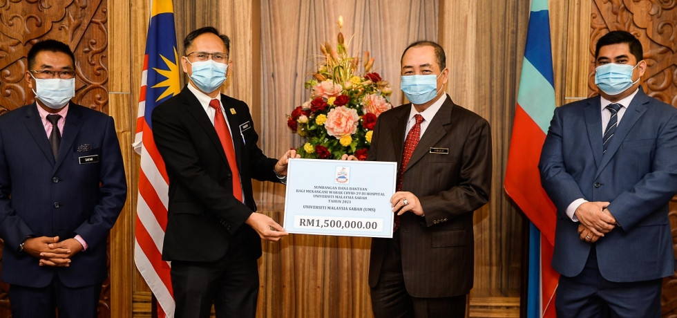 UMS receives million ringgit from Sabah government