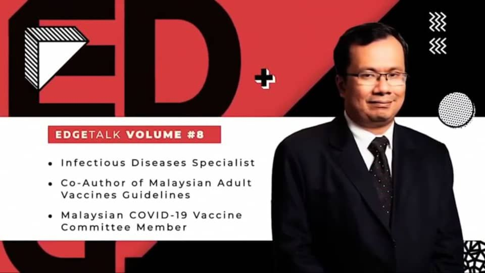 Dr Timothy William, Infectious Disease Specialist, Covid-19 vaccine committee member