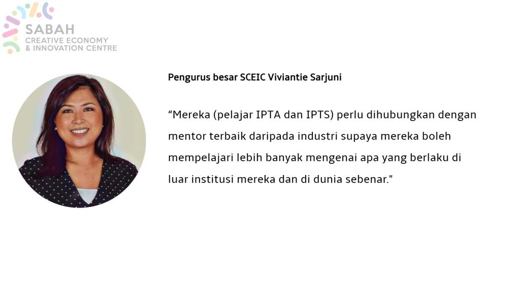 Pengurus Besar SCEIC Viviantie Sarjuni.