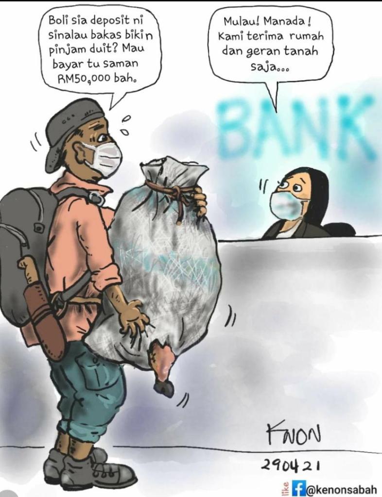 Komik netizen peniaga sinalau bakas dikompoun RM50,000