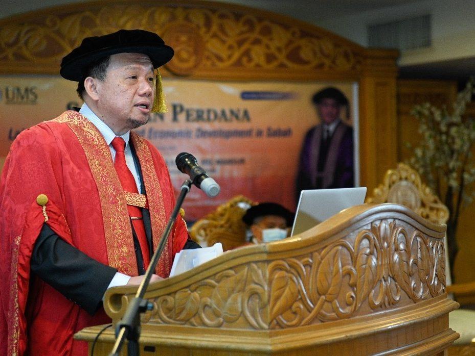Naib Canselor UMS, Profesor Datuk Ts Dr Taufiq Yap Yun Hin; kredit gambar- UMS