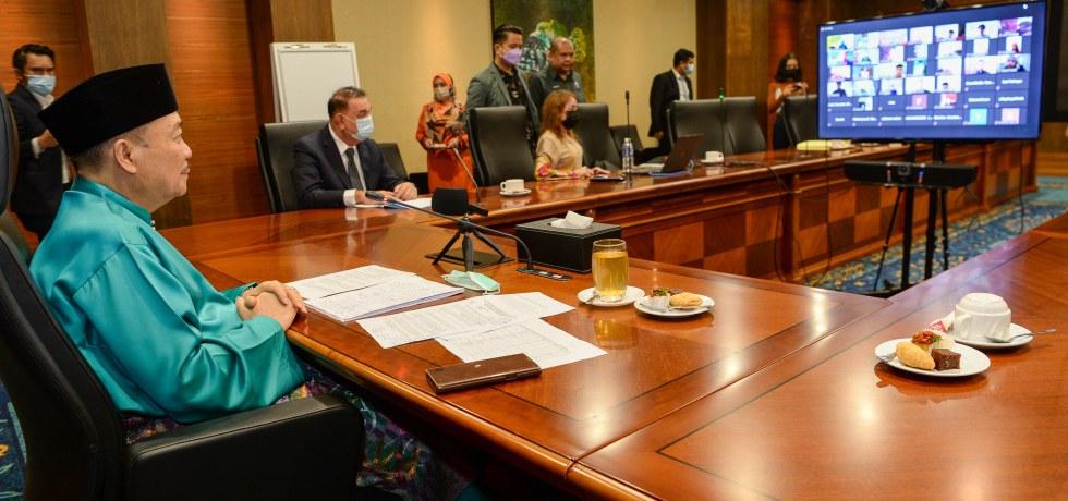 Ketua Menteri berinteraksi bersama 241 pelajar cemerlang SPM