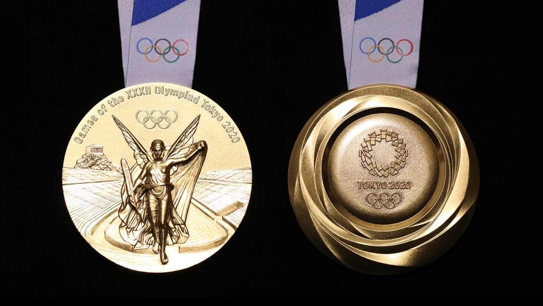 Tokyo Olympic medal