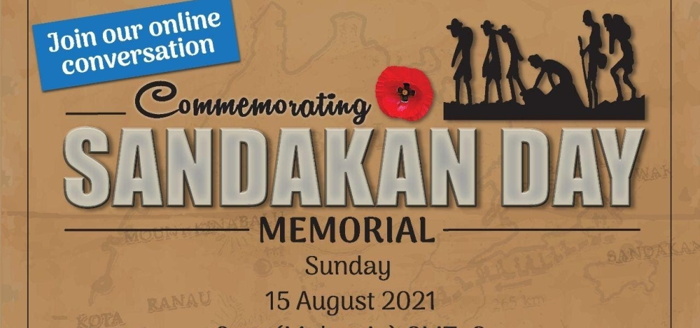Sandakan Day Memorial will be held online for the second year on Aug 15, 2021