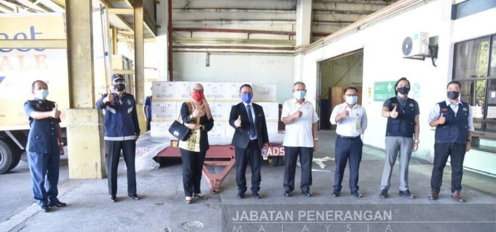 Kumpulan kedua Cansino tiba di Sabah-Jabatan Penerangan Sabah