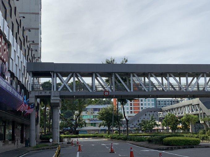 Skybridge pictures by netizen