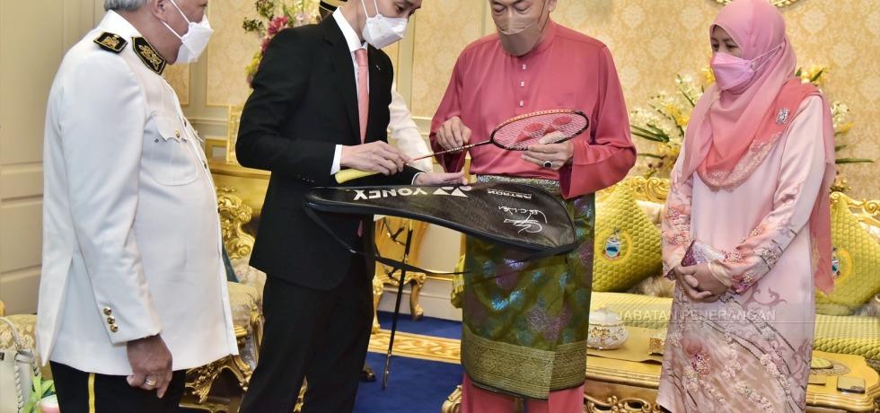 Lee Chong Wei and Tun Juhar
